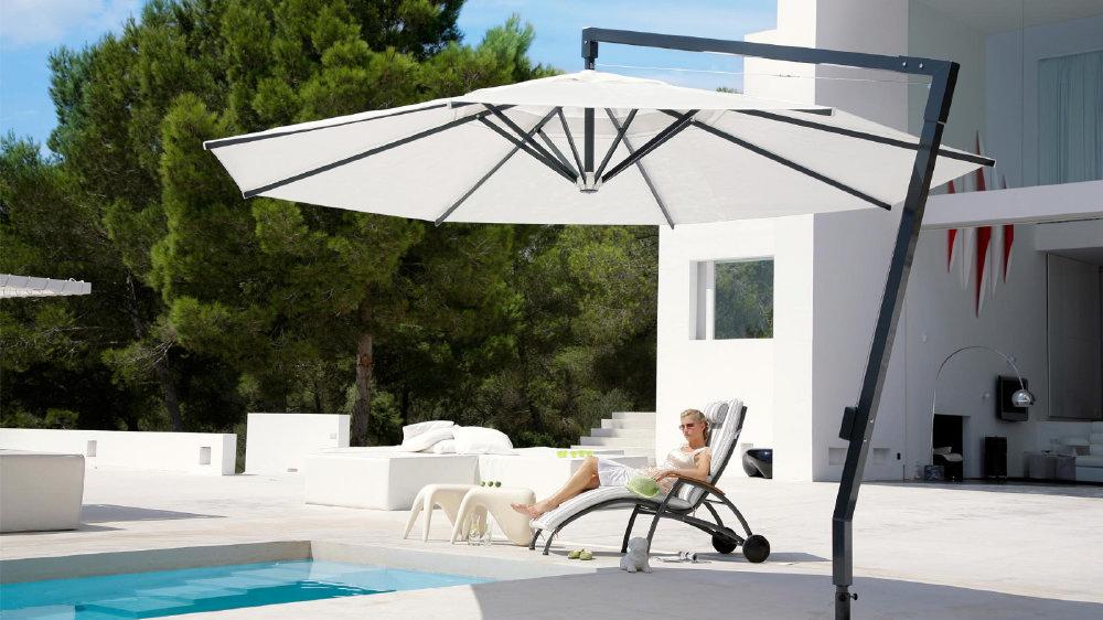 Ampel Sonnenschirm Mit Kurbel Sonnenschirme Sonnenschutz
